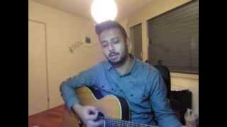 Staind - The Outside (Acoustic Cover by Cris Rellah)