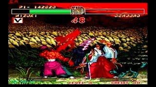Samurai Shodown 2 - Mizuki (Arcade) Level 8