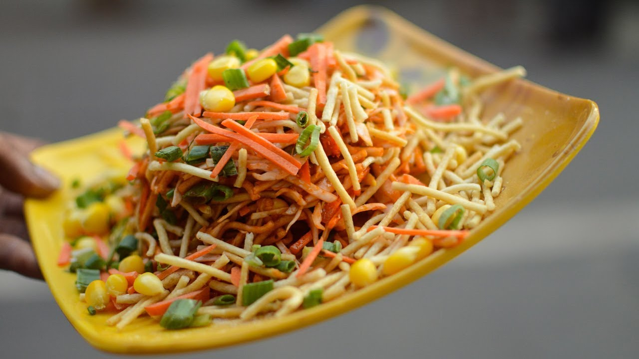 KING of CHINESE BHEL | Indian Twist to Chinese Flavor | Indian Street Food