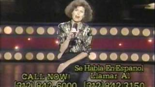 Lucie Arnaz performs on the 1988 National Easter Seal Telethon