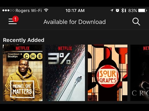 How to download, manage and watch Netflix s and movies offline
