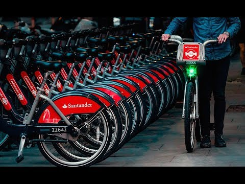 Santander Bikes - How To Use TFL London Cycle Hire 2017
