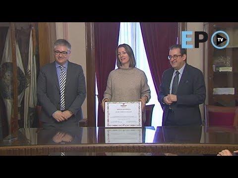 El Concello de Lugo, distinguido por su baja siniestralidad laboral