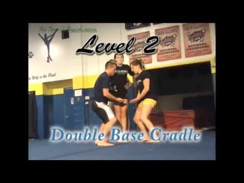 Cheerleading Stunt Videos - Cheerleading Level 1 Through 5
