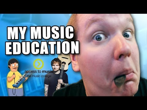 My Music Education Background [AKA Gene Belcher & the story of how I never met Ed Sheeran]