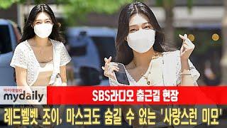 [레드벨벳 조이:RED VELVET JOY] 마스크도 숨길 수 없는 '사랑스런 미모'