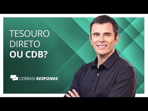 Tesouro Direto ou CDB?  #CerbasiResponde