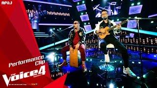 The Voice Thailand -  ปิงปอง&ไตเติ้ล - Blurred Lines - 27 Sep 2015