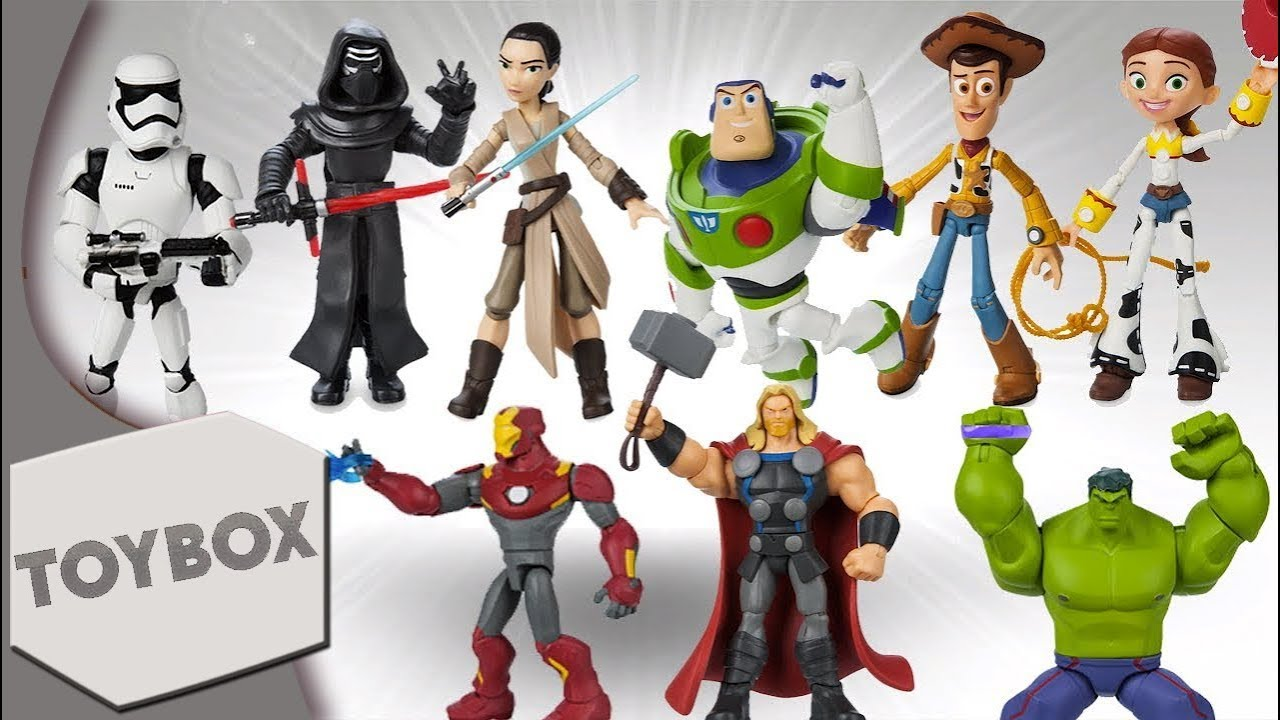 """Kids Toys Action Figure: Disney Infinity Inspired """"Toybox"""" Figures Available Now"""