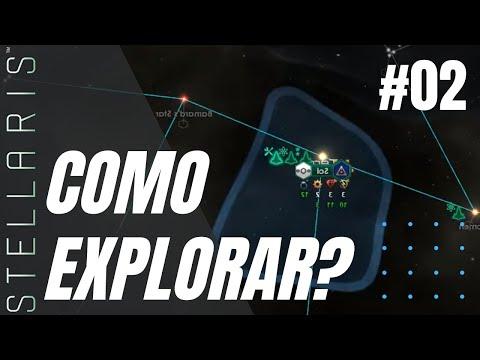 #2 APRENDENDO A EXPLORAR - Comprei o game, e agora, Como jogar? Stellaris Nemesis |