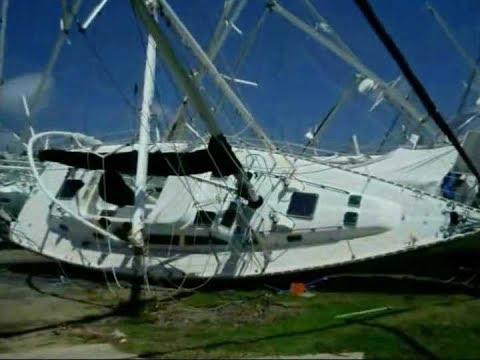 Остров Гренада после урагана ИВАН