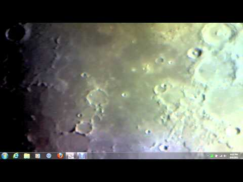 007 Moon Musings - Proof of Earth Wobble - I see a Roman Coliseum shaped crater