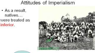 Standard 10.4.3 - Attitudes of New Imperialism