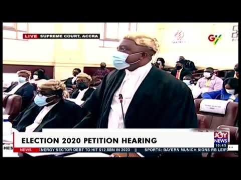 Election 2020 Petition Hearing day 15 on JoyNews (15-2-21)