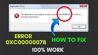 How To Fix Error 0xc00007b | ليبيا VLIP-VLIP LV
