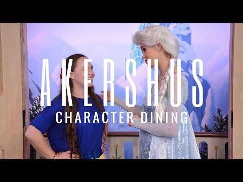 Character Lunch at Akershus! | Kayla