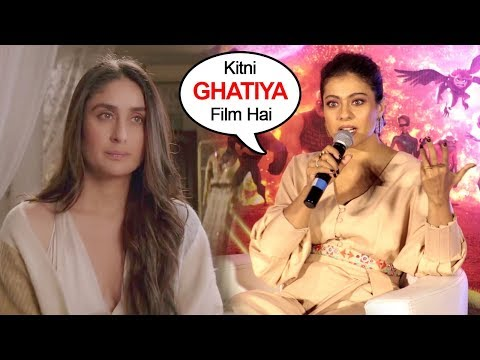 Kajol Makes FUN Of Kareena & Sonam Kapoor's Veere Di Wedding Movie