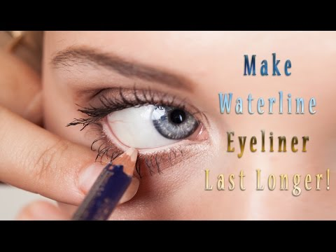 Get Eyeliner to Stay in Your Waterline Longer! - YouTube