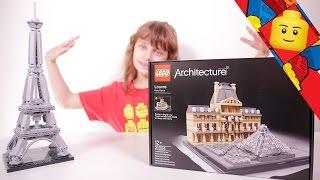 [LEGO] Le Louvre en Lego - Studio Bubble Tea unboxing Lego Architecture