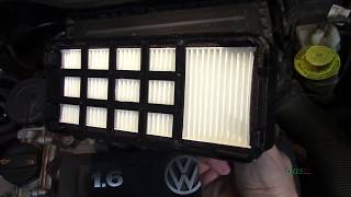 Установка дополнительного салонного фильтра VW Polo Sedan