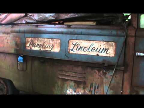 more patina uncovering on the 1959 vw single cab truck