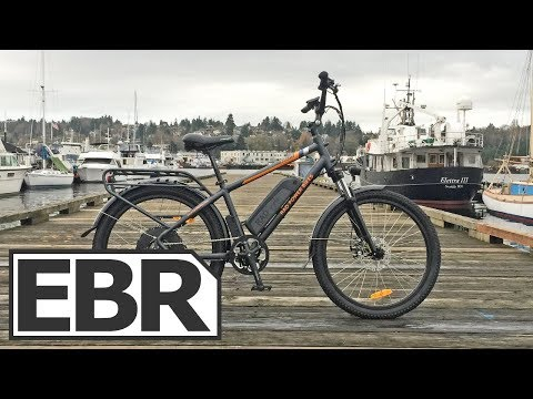 Rad Power Bikes RadCity Video Review - $1.5k Quiet Electric Bike with Throttle, Lights, Fenders