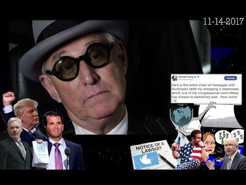 Roger Stone Discusses Donald Trump JR, WikiLeaks Julian Assange, Seth Rich, Sessions Current Events