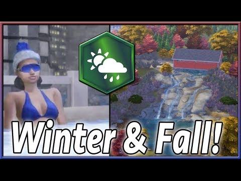 The Sims Info/Thoughts: San Myshuno's Winter, Fall in Brindleton Bay! thumbnail