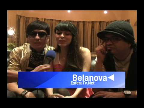 EsferaTv.Net saludos Belanova y Eduardo Rodríguez