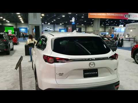 2019 Mazda CX9 at 2018 Washington auto show