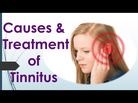 Tinnitus Treatment - Causes and treatment of tinnitus