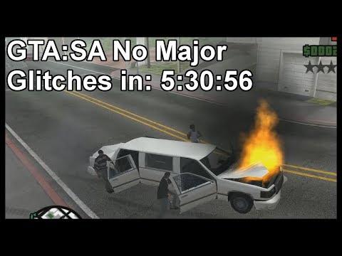 GTA:SA No Major Glitches in 5:30:56