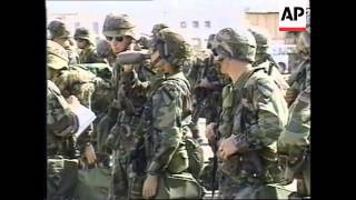 KUWAIT: US TROOP REINFORCEMENTS ARRIVE