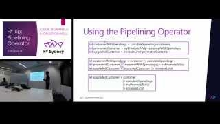 Write Clean Code using the Pipelining Operator in F# - Jorge Fioranelli