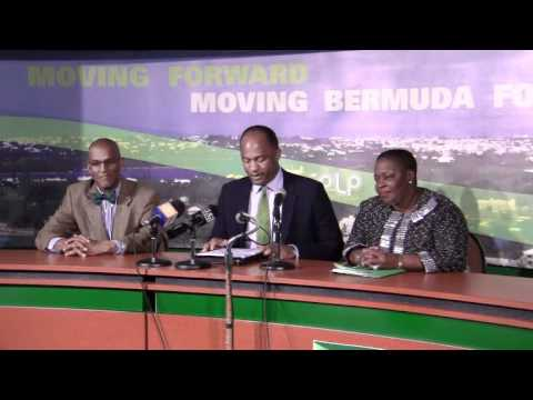 PLP Announce Candidate Scott Simmons Bermuda February 20 2012