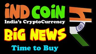 INDCOIN! Indian Cryptocurrency | Exchange Listing | BUY Before Listing | Ind coin Price prediction