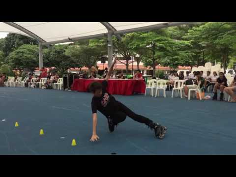 Singapore National Freestyle Competiton Slide 2016