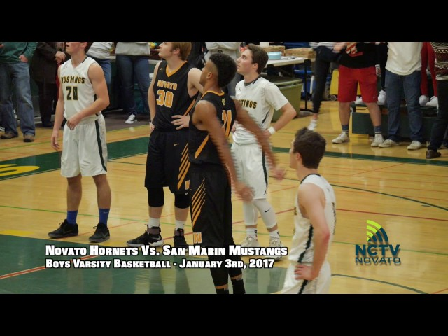 Game of the Week | NHS @ SMHS | Boys Varsity Basketball ( 1-3-2017 )