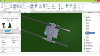 Making a functional train in Roblox Studio - Tracks & Bogies