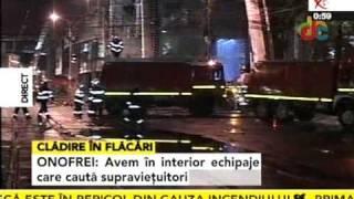 Incendiul Bucuresti, linga Biserica Armeneasca