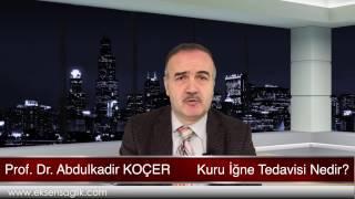 Prof Dr Abdulkadir KOÇER Kuru İgne Tedavisi Nedir