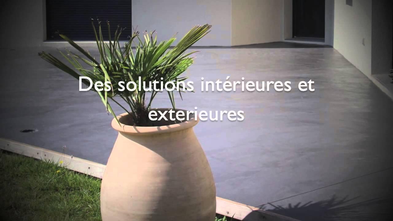Béton Ciré Lyon - Paris - Grenoble - Nantes - YouTube