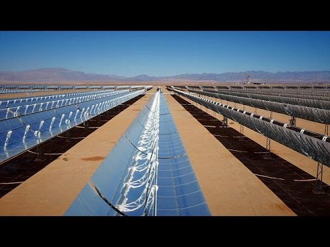Marrocos aposta na maior central de energia solar do mundo