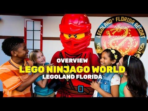 LEGO NINJAGO World overview at LEGOLAND Florida