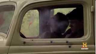 Bonnie & Clyde -- Filming the Ambush Scene