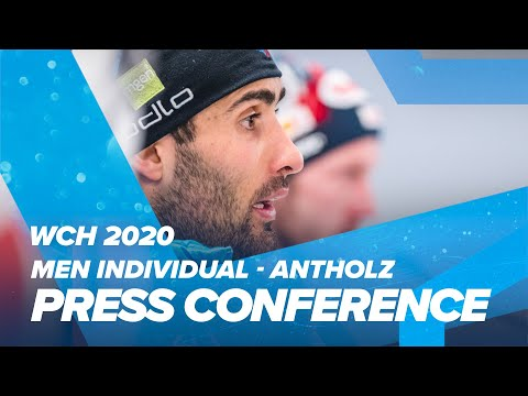 Antholz 2020: Men Individual Press Conference