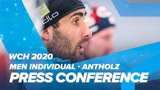 Antholz 2020: Men Individual Press Conference