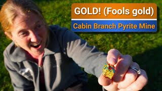 FOOLS (gold) Exploring Cabin Branch Pyrite mines