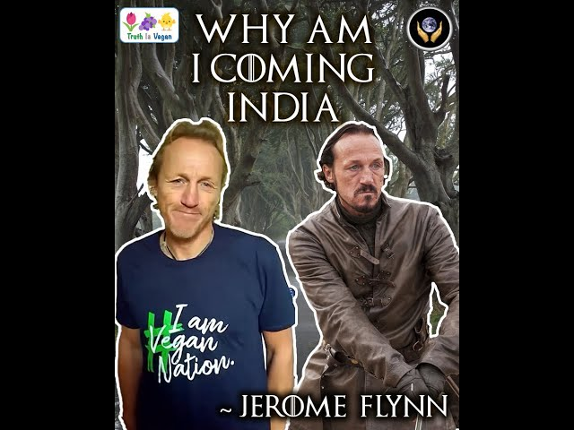 Why am I visiting India? - Jerome Flynn