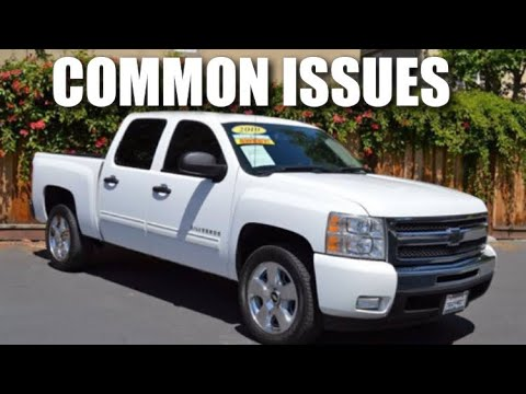 Common Issues with 07-13 Chevy Silverado & GMC Sierra
